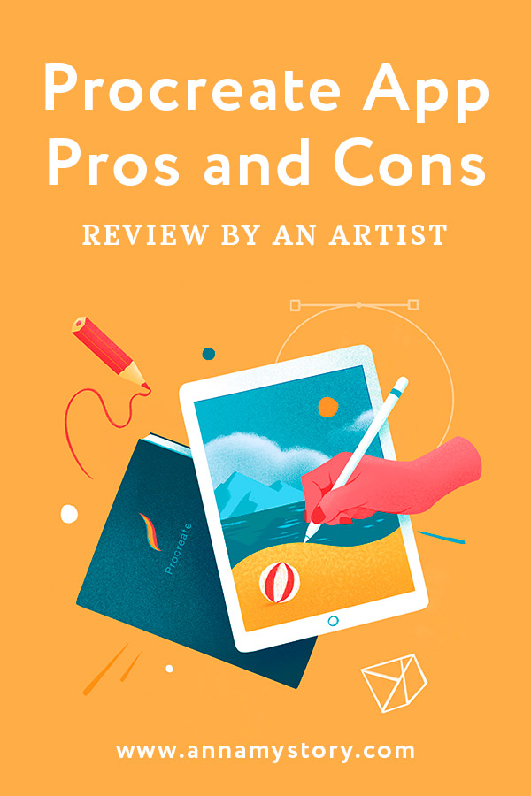 Procreate Review. Pros and Cons