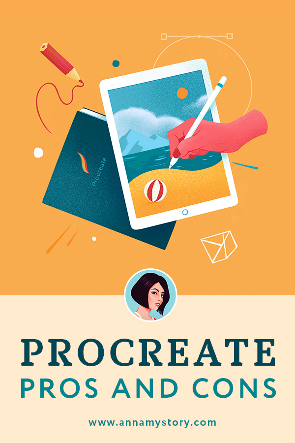 Procreate pros and cons Pinterest