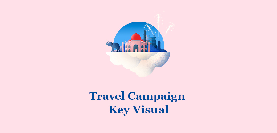 Travel Campaign art