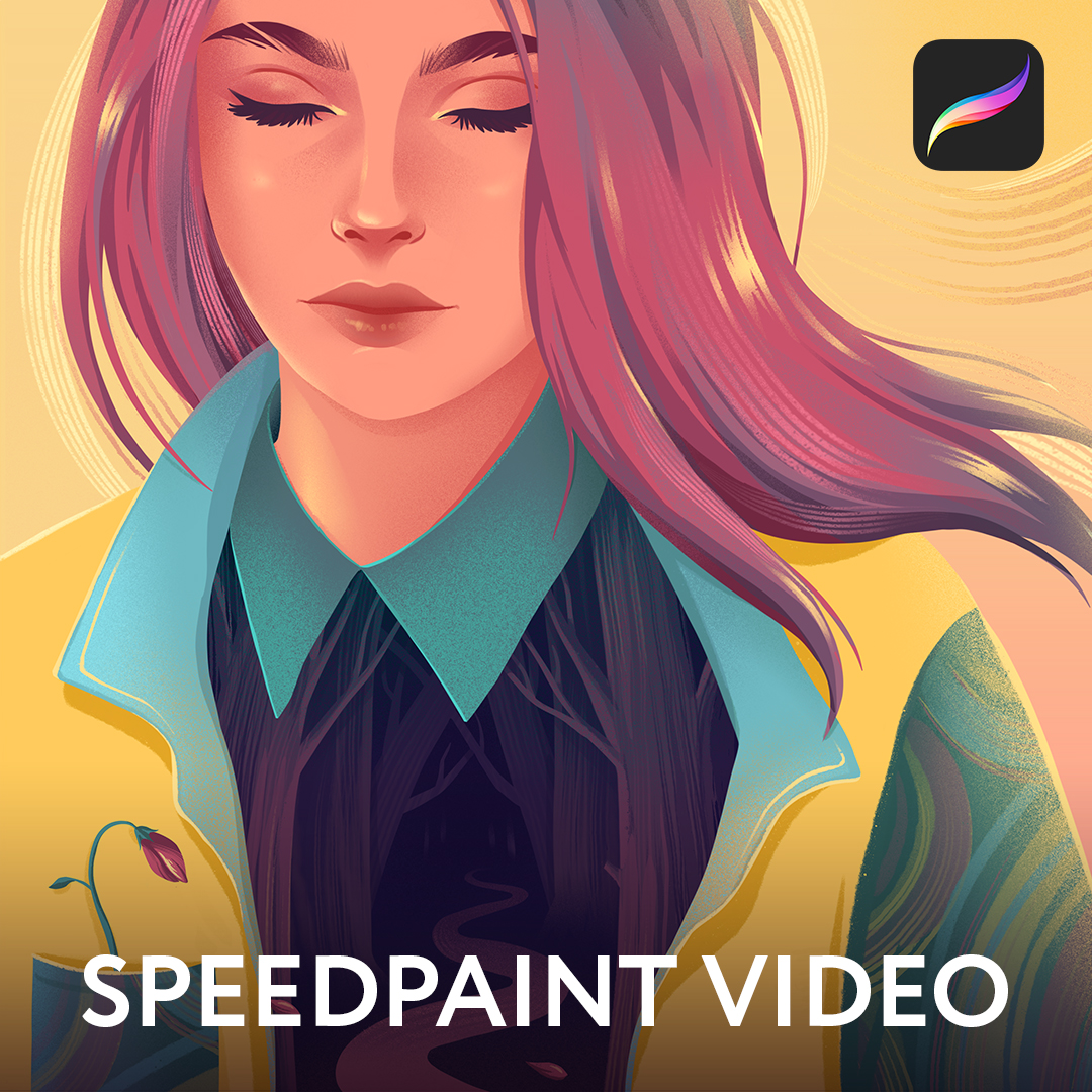 Anniko: Procreate Speedpaint video
